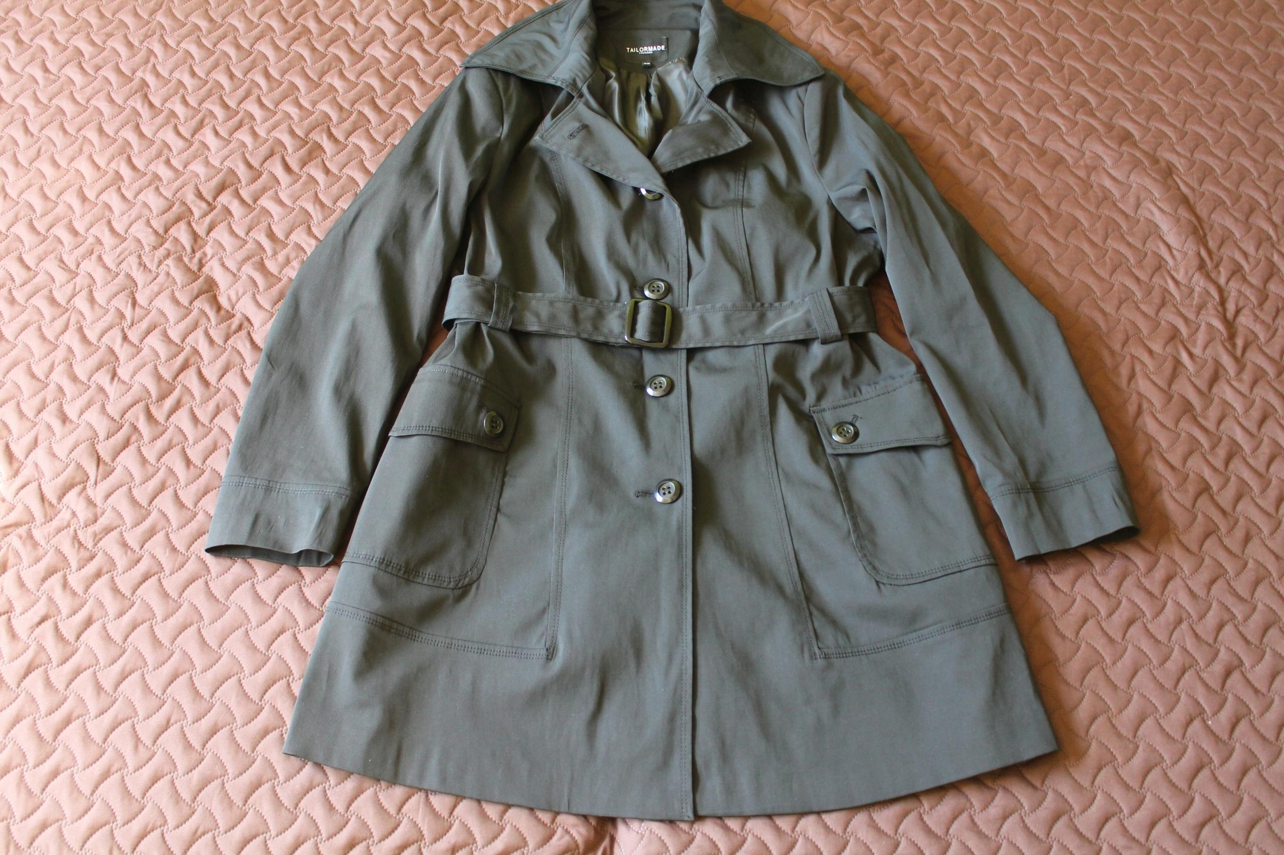 39b74325 Śliczny jesienny płaszcz roz. 48. IDEALNY - 7508153037 - oficjalne ...