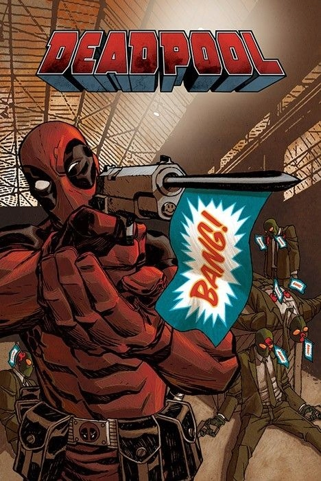Marvel Deadpool Bang - plakat