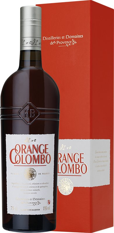 FRANCJA - ORANGE COLOMBO 0,75L KARTON Aperitif 15%