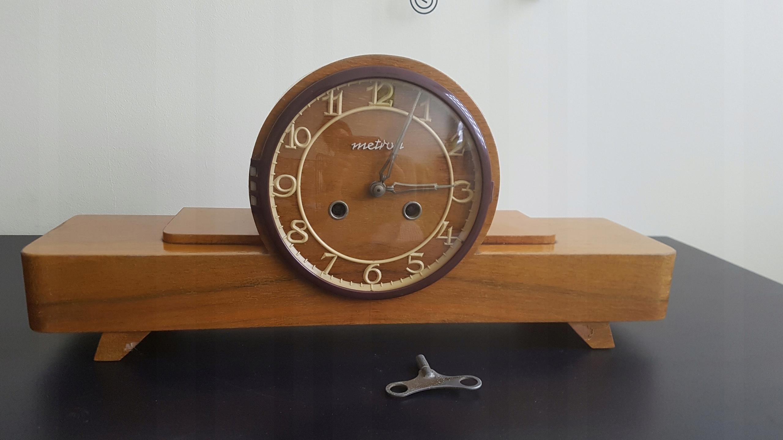 Zegar Stojący Kominkowy Z 1969 Roku 7603430861 Oficjalne