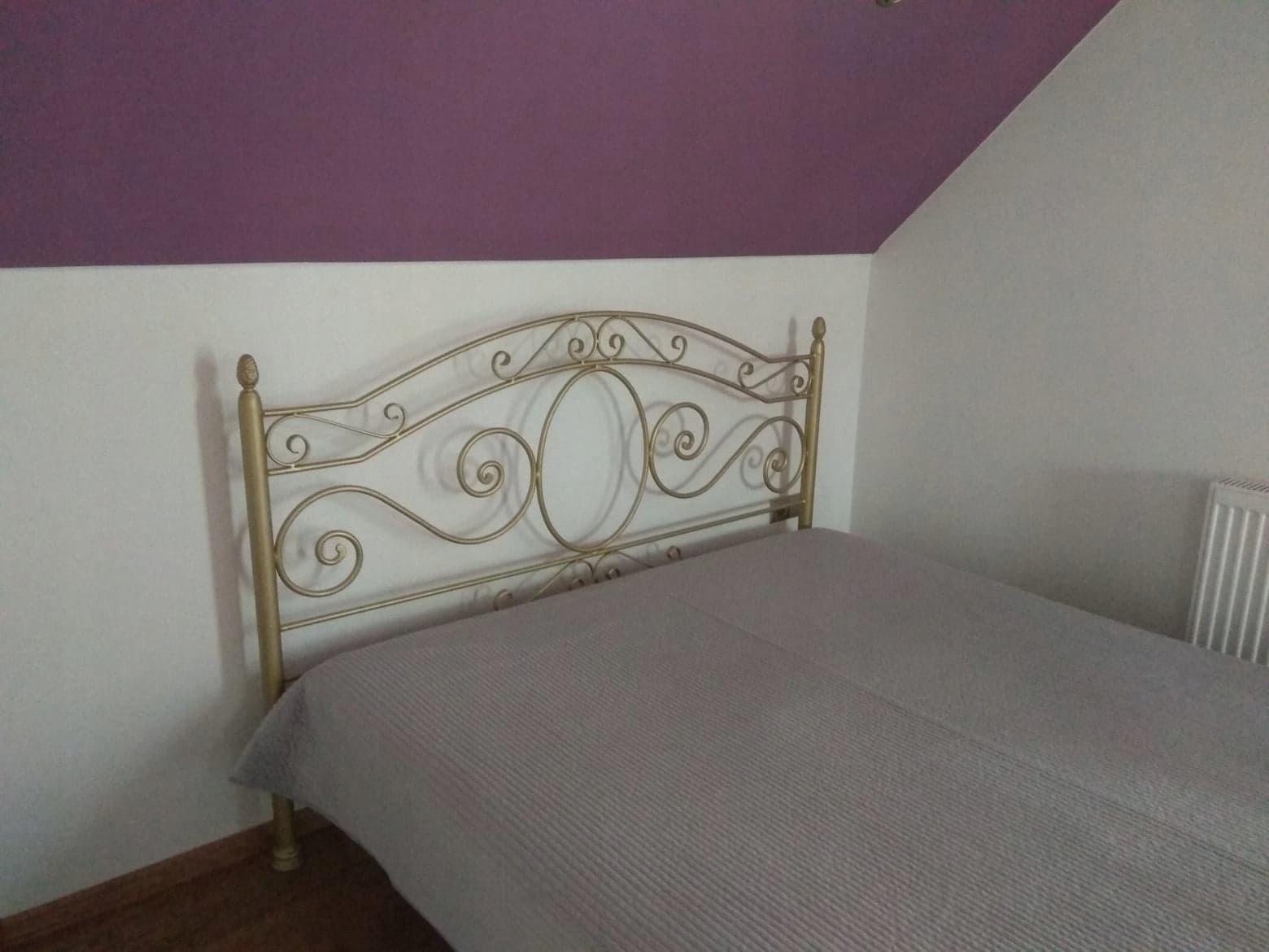 łóżko Metalowe Kute 160200 Podwójnestelaż Krosno