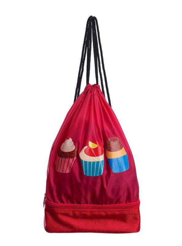 10802612ca943 LUNCH BAG torba śniadaniowa IRIS TOREBKA CZERWONY - 7092074478 ...