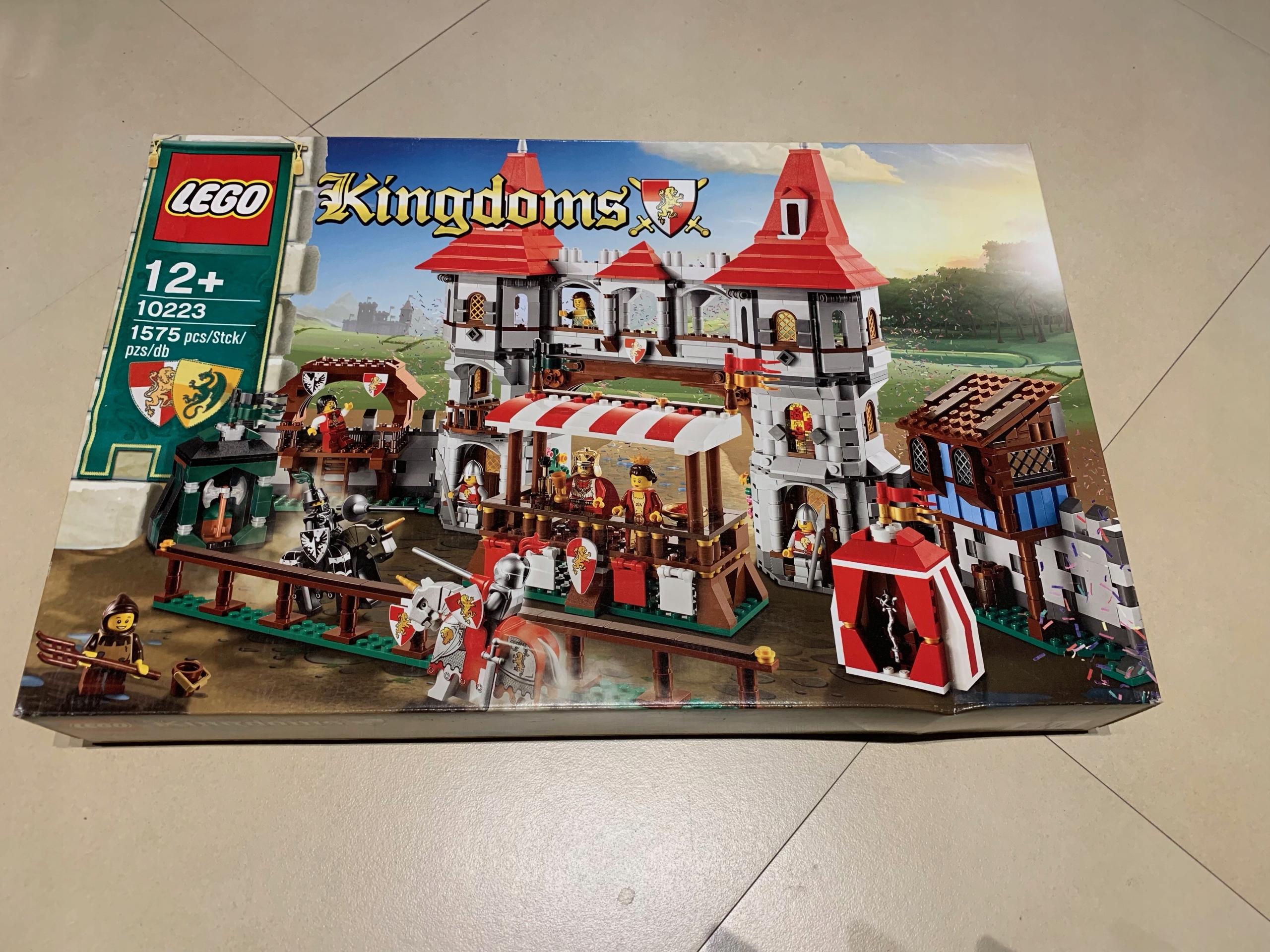 LEGO KINGDOMS 10223 JOUST ARENA UNIKAT OKAZJA WWA