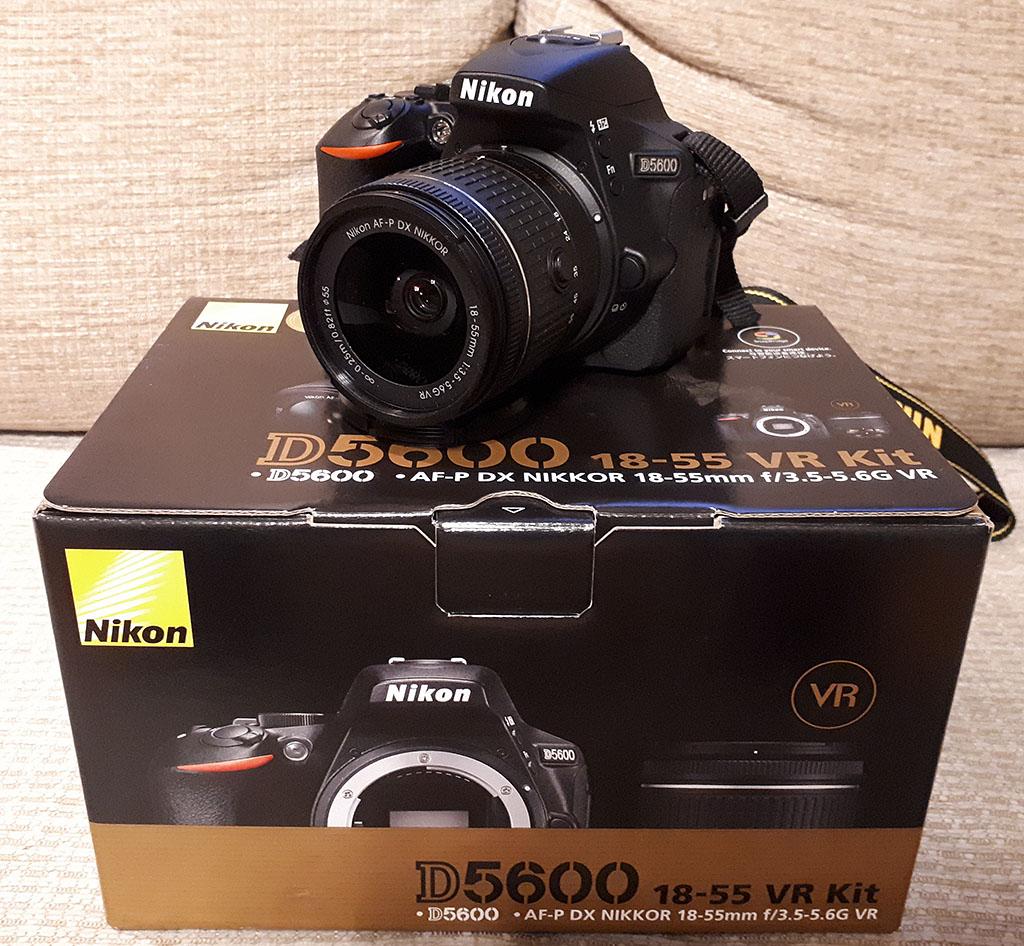 Nikon D5600 Af P 18 55mm Vr Gratis 7253643791 Oficjalne Kit