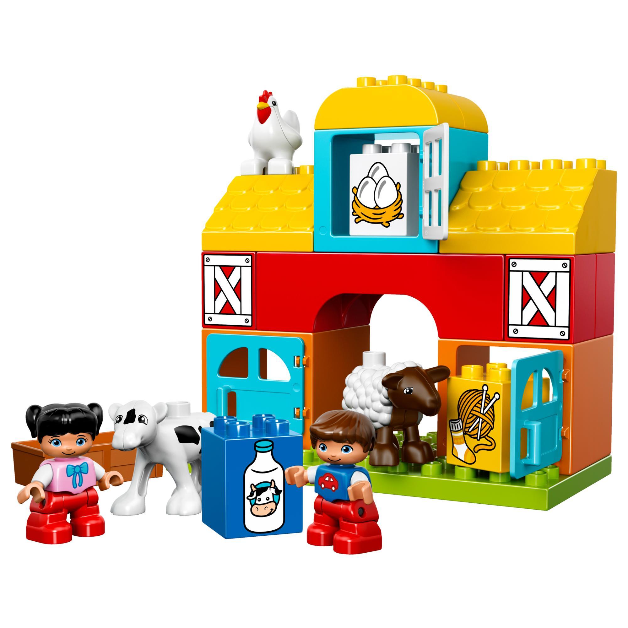 Lego Duplo Klocki 10617 Moja Pierwsza Farma 7389491948 Oficjalne