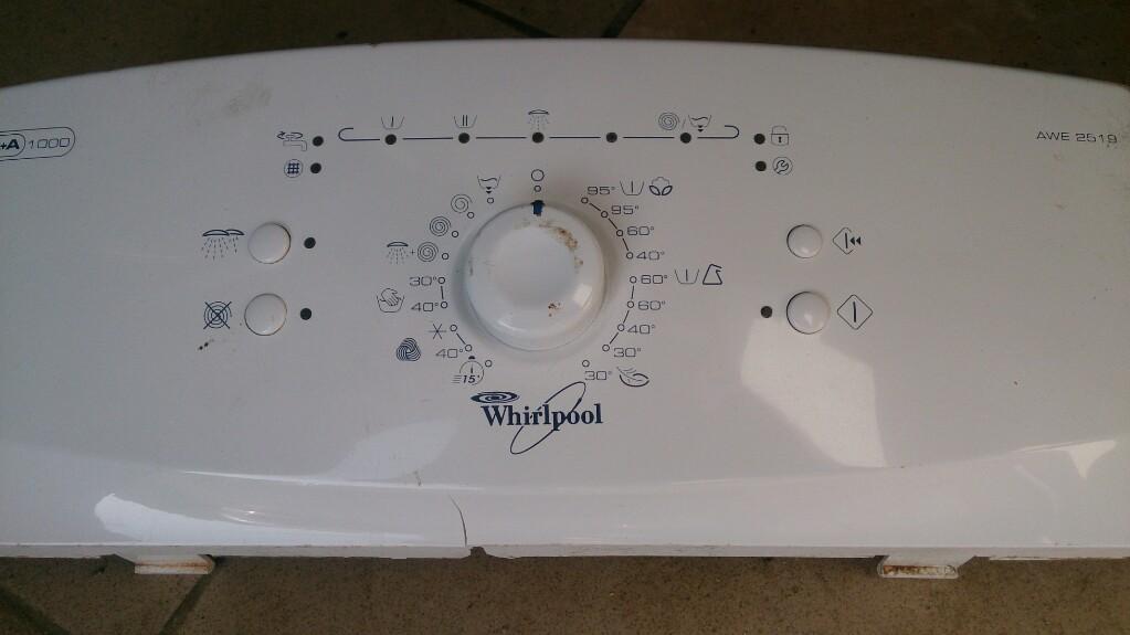 Tylko na zewnątrz moduł Whirlpool AWE 2519 - 7282512576 - oficjalne archiwum allegro AN95