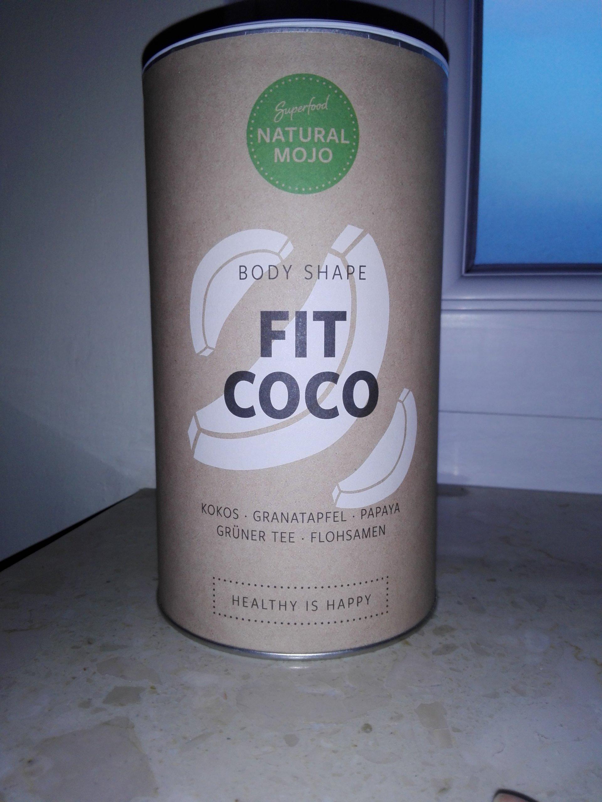 Natural Mojo Fit Coco mieszanka białkowa i superfo