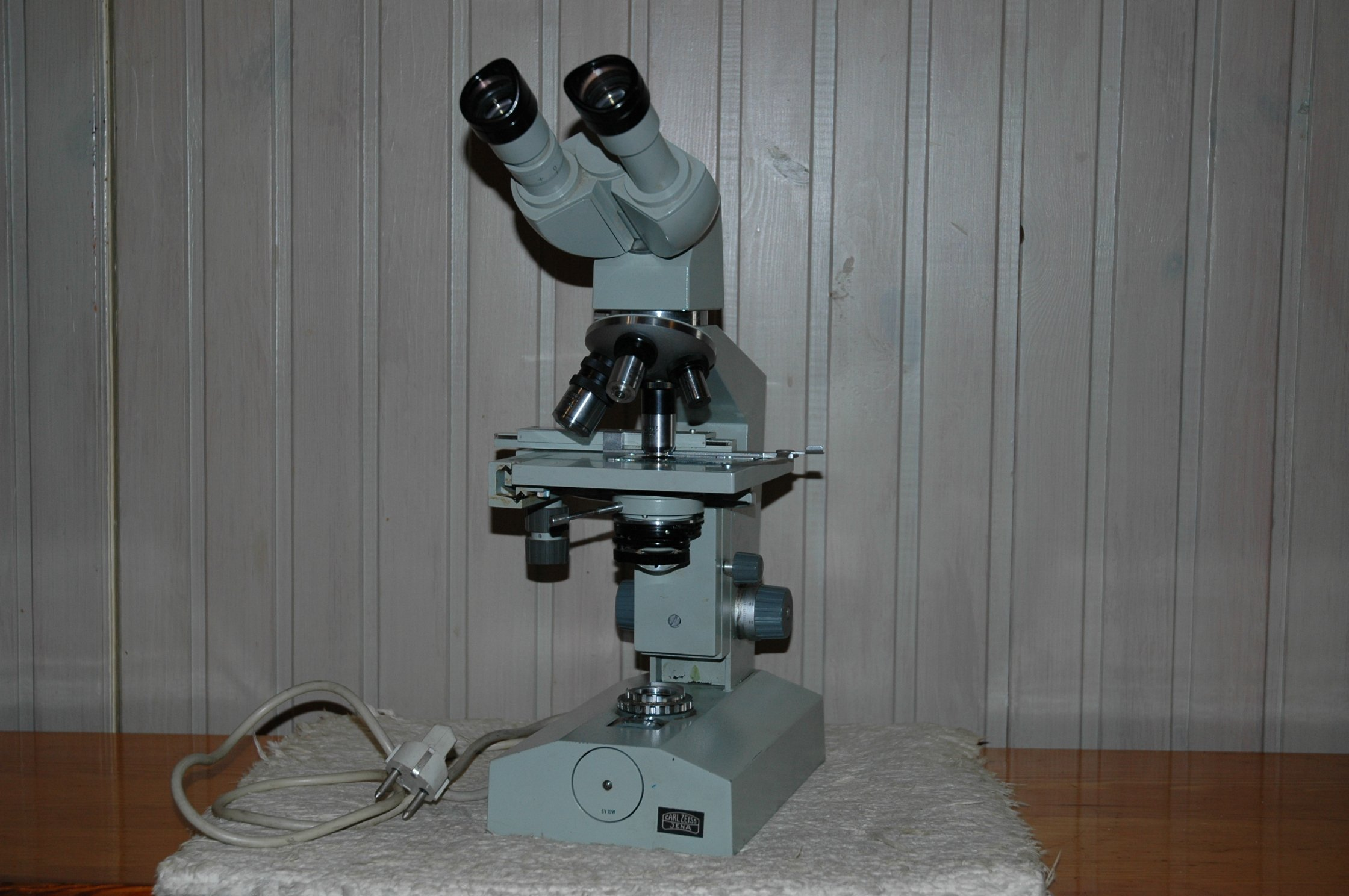 Mikroskop laboval 3 carl zeiss jena 7386521883 oficjalne