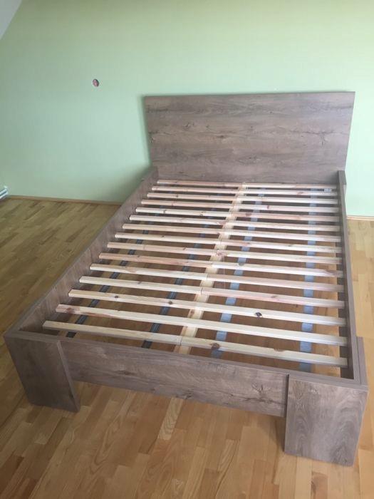łóżko Rama łóżka Jysk Vedde 140x200 6965669552 Oficjalne