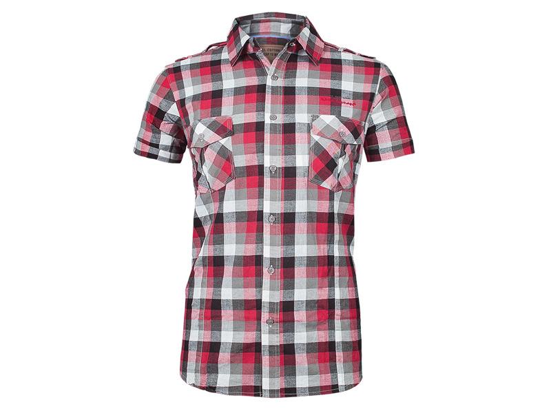 4c063dc0ee8b07 Koszula Męska z Krótkim Rękawem CLOVER Koszule M - 6981739667 - oficjalne  archiwum allegro