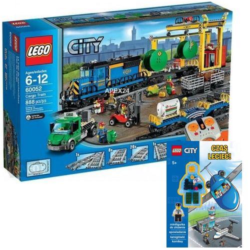 Lego City 60052 Pociąg Towarowy Książka Lego 7334321011