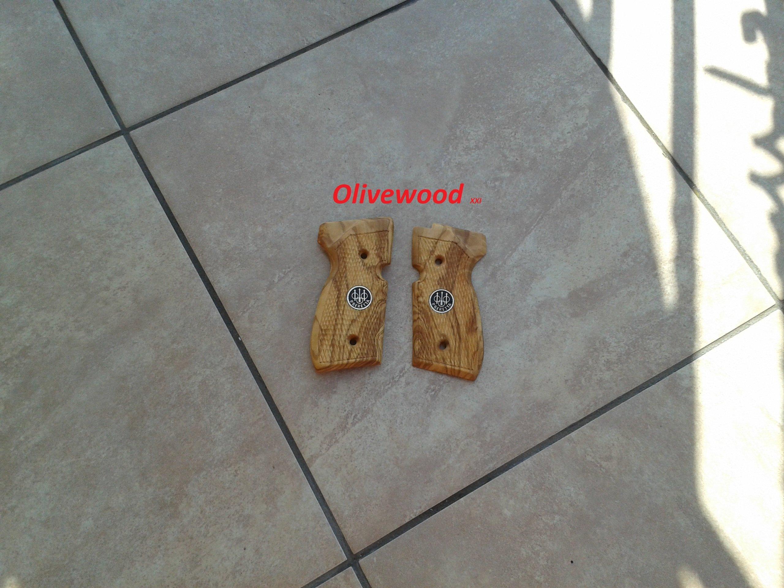 Okładziny drewniane do wiatrówki Beretta 92 fs