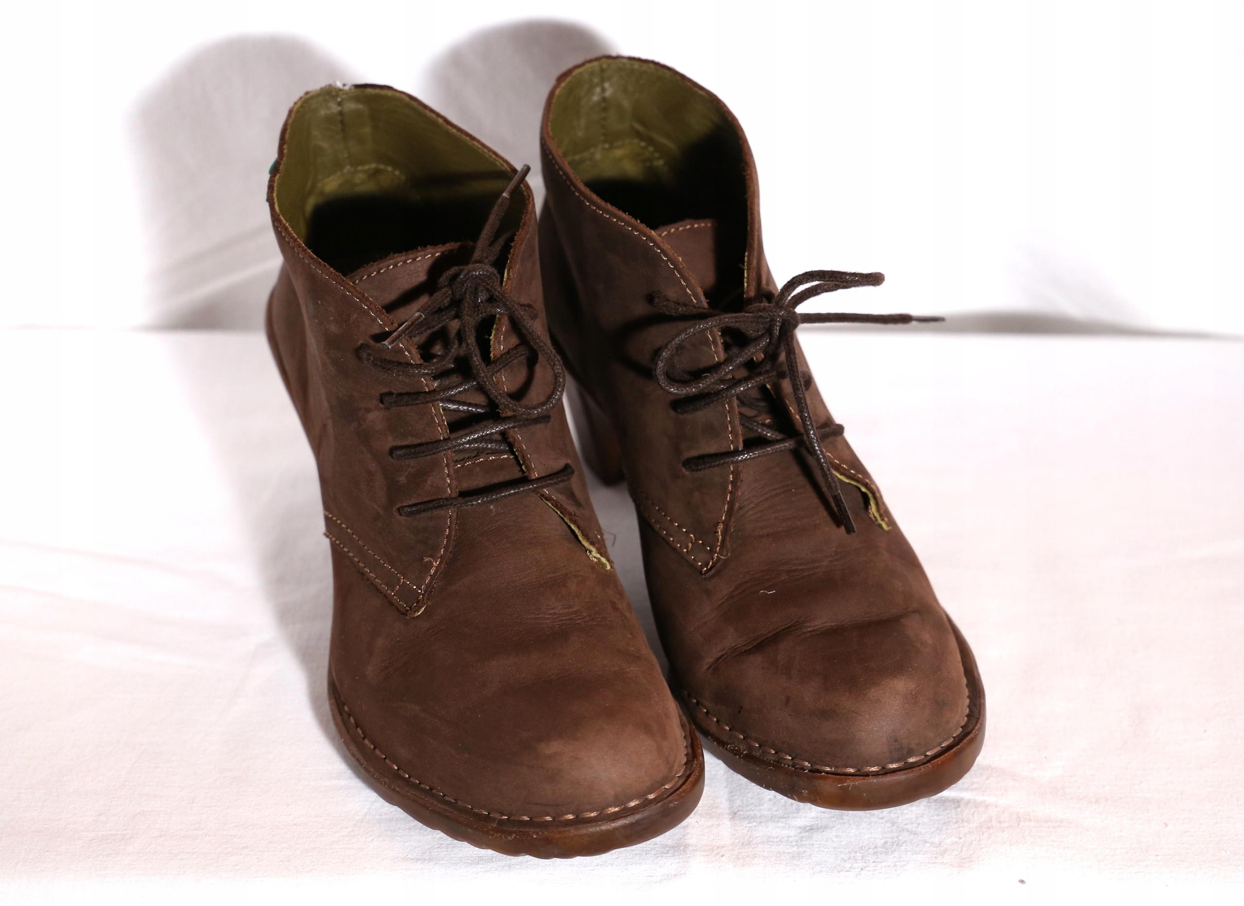 88290ec8 Skórzane buty EL NATURALISTA rozm . 38 - 7642076261 - oficjalne ...