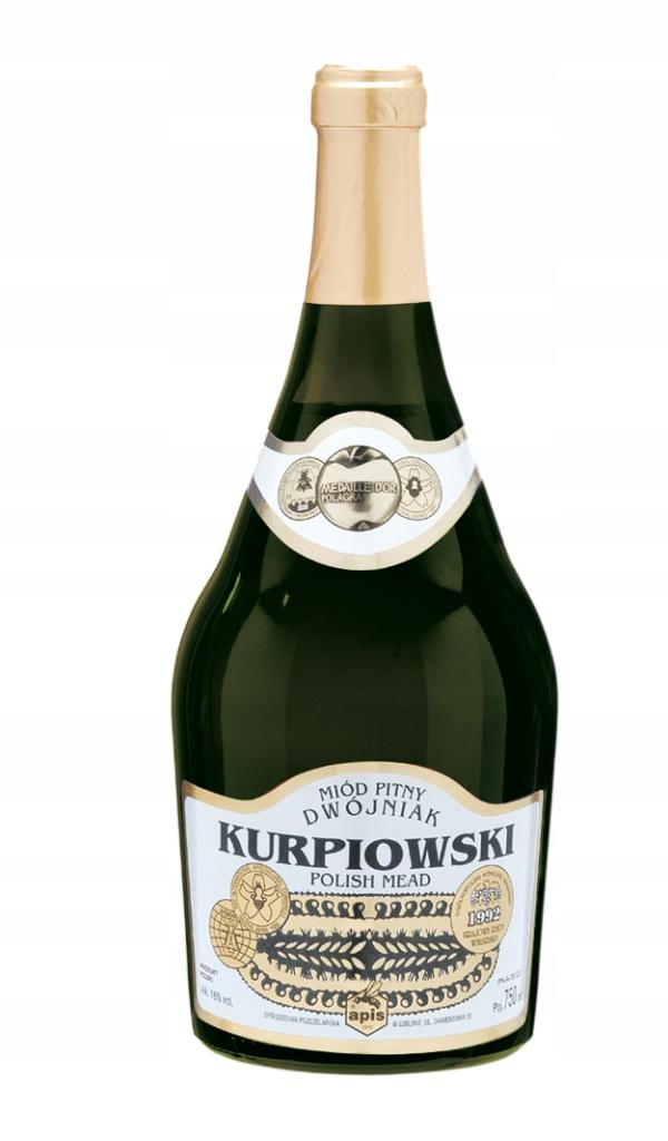 Miód pitny Dwójniak Kurpiowski w butelce 750 ml