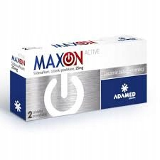 MaxOn active 2 tabl. potencja Sildenafil