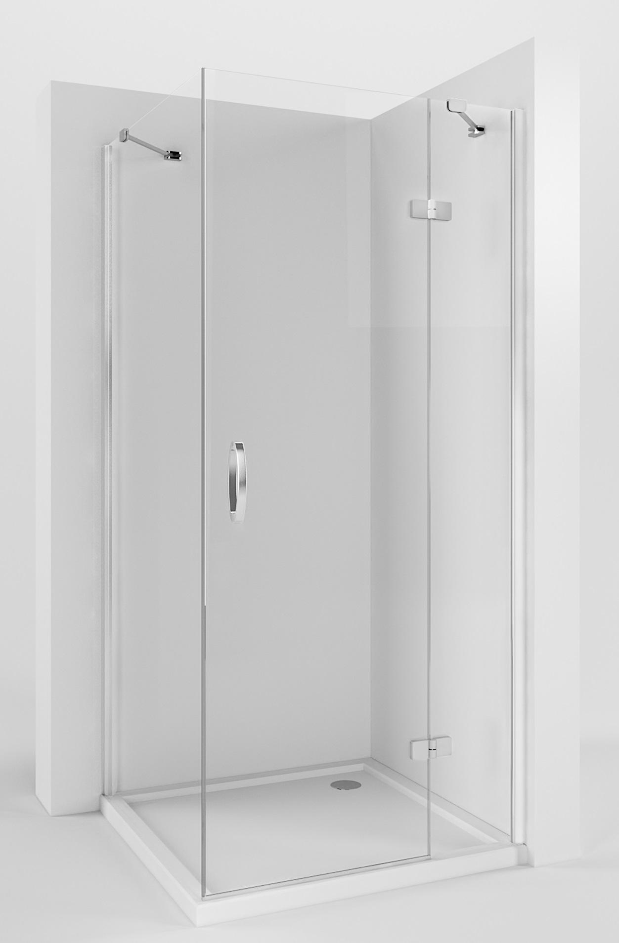 Huppe Aura Kabina 90x90cm Drzwi P ściana Powłoka