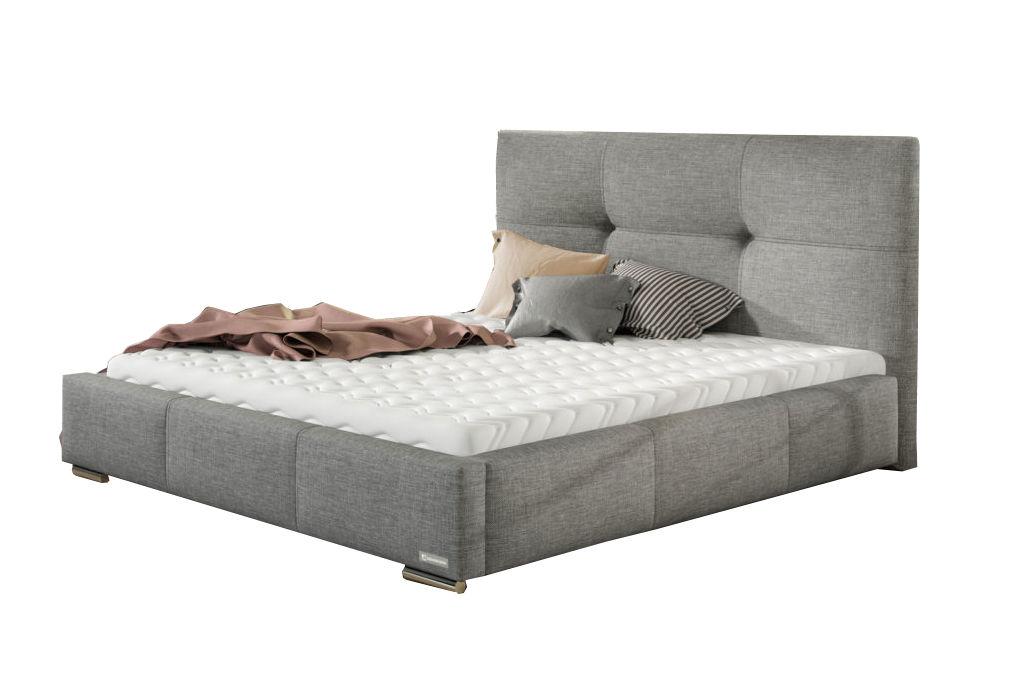 łóżko Tapicerowane Lily Stelaż 140x200 Kraków 7239185188