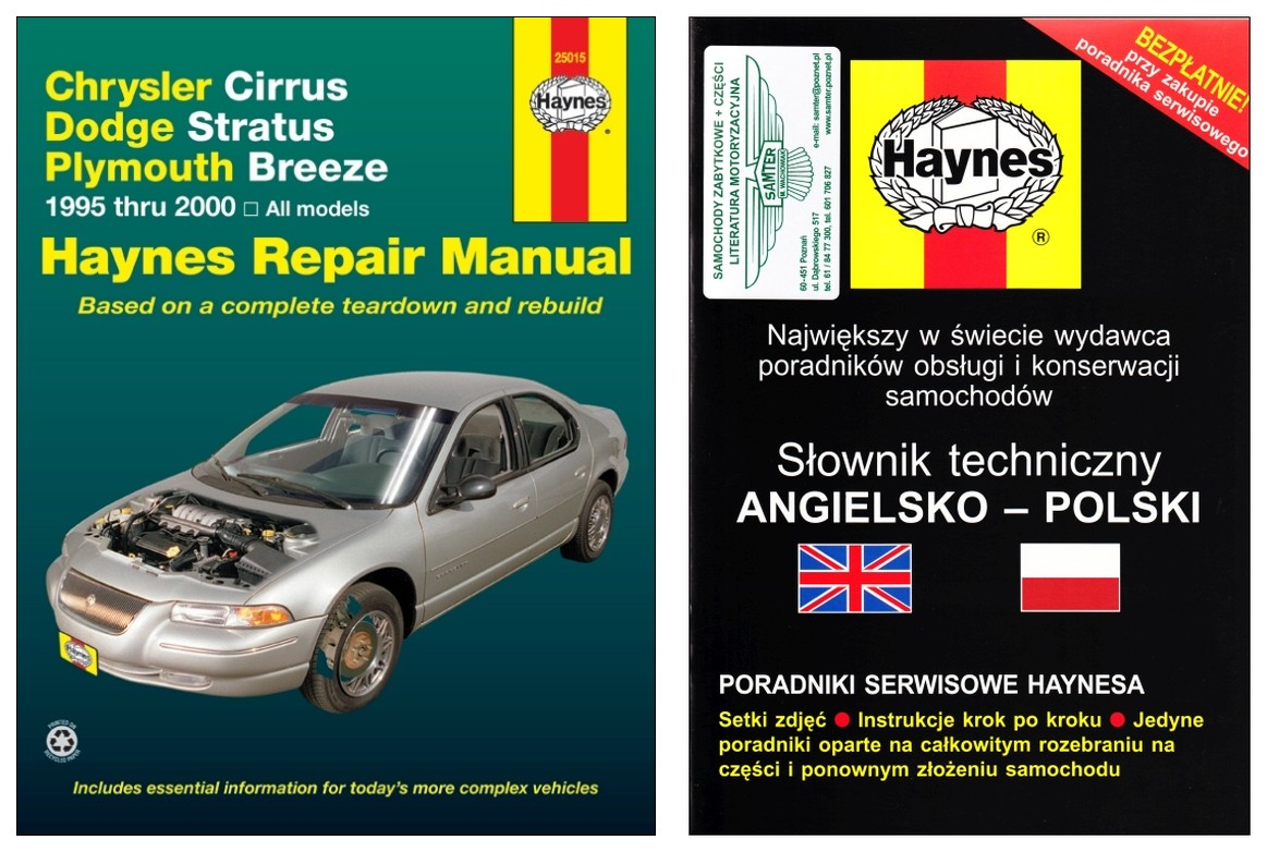 Chrysler Cirrus Dodge Stratus Plymouth Breeze