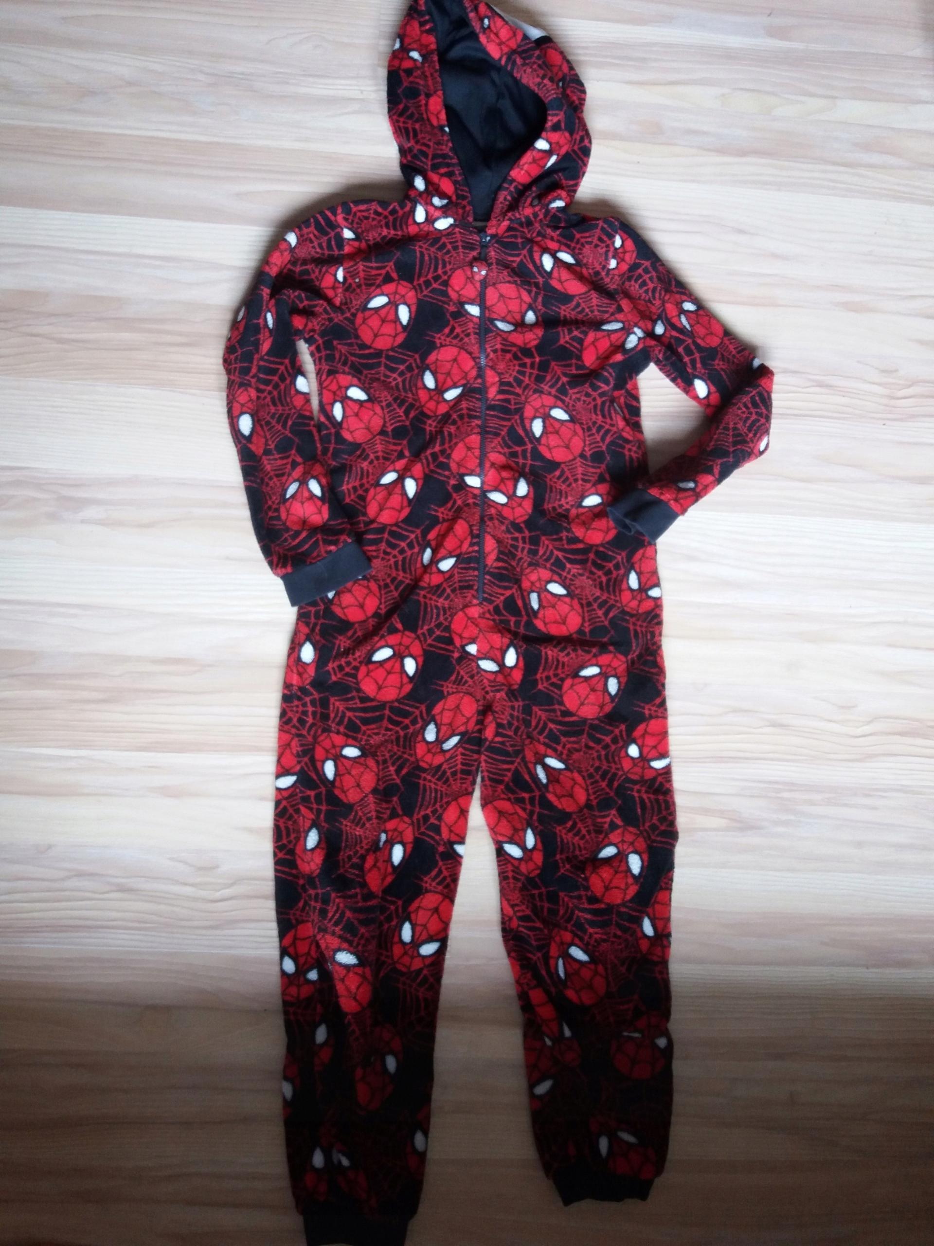 7147d2521bac7b MARVIEL, SPIDERMAN piżama pajacyk kostium r.140 - 7526715558 ...