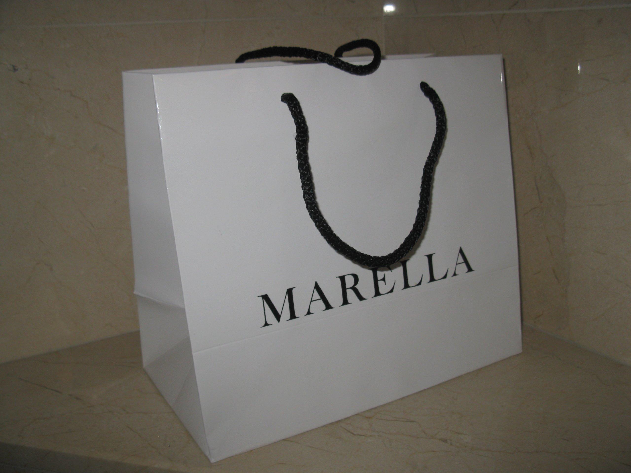 dd2b70a74c654 MARELLA MAX MARA torba papierowa M NOWA - 7291528738 - oficjalne ...
