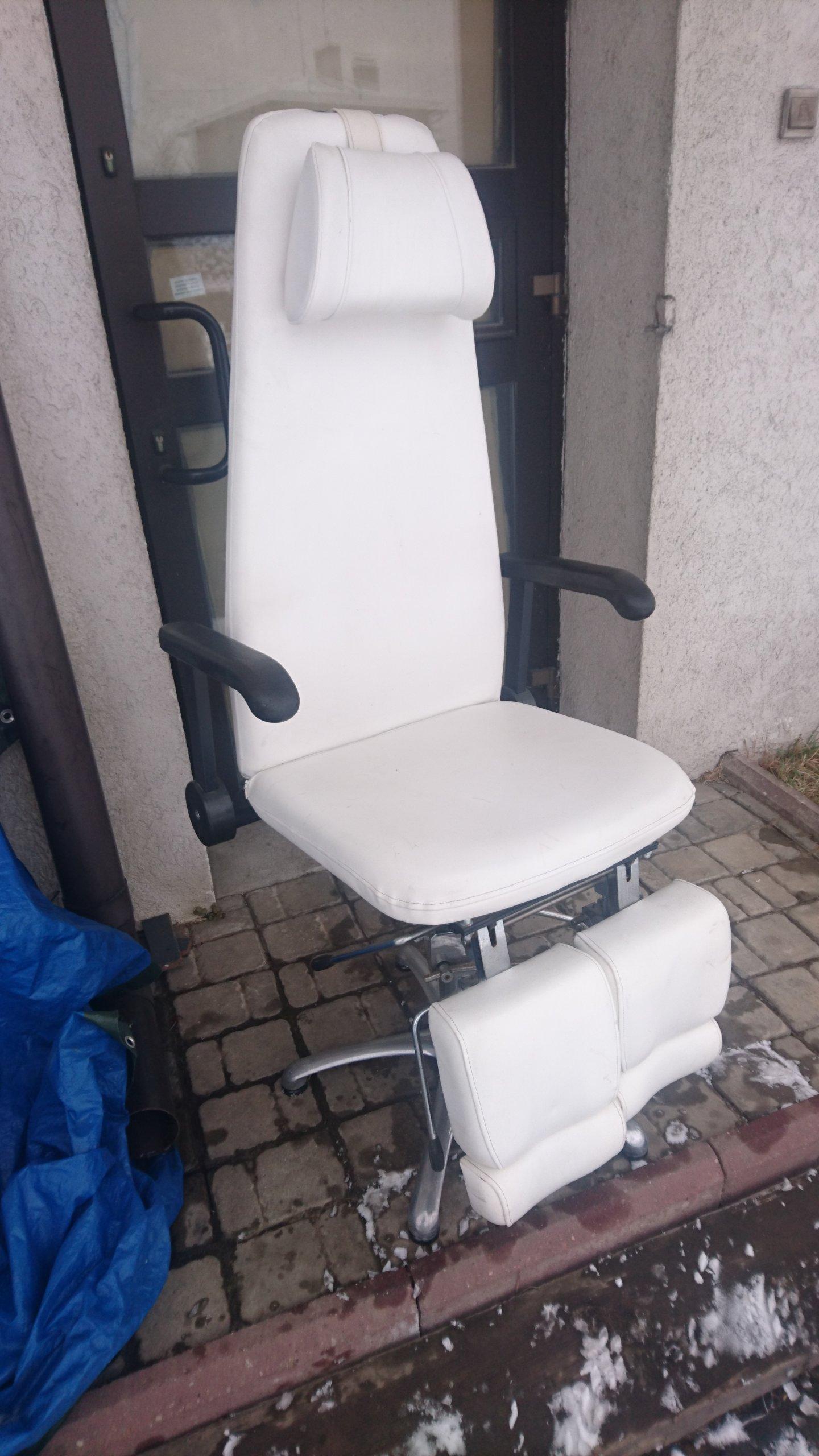 Fotel Kosmetyczny Rozkładany Solidny 7178944494