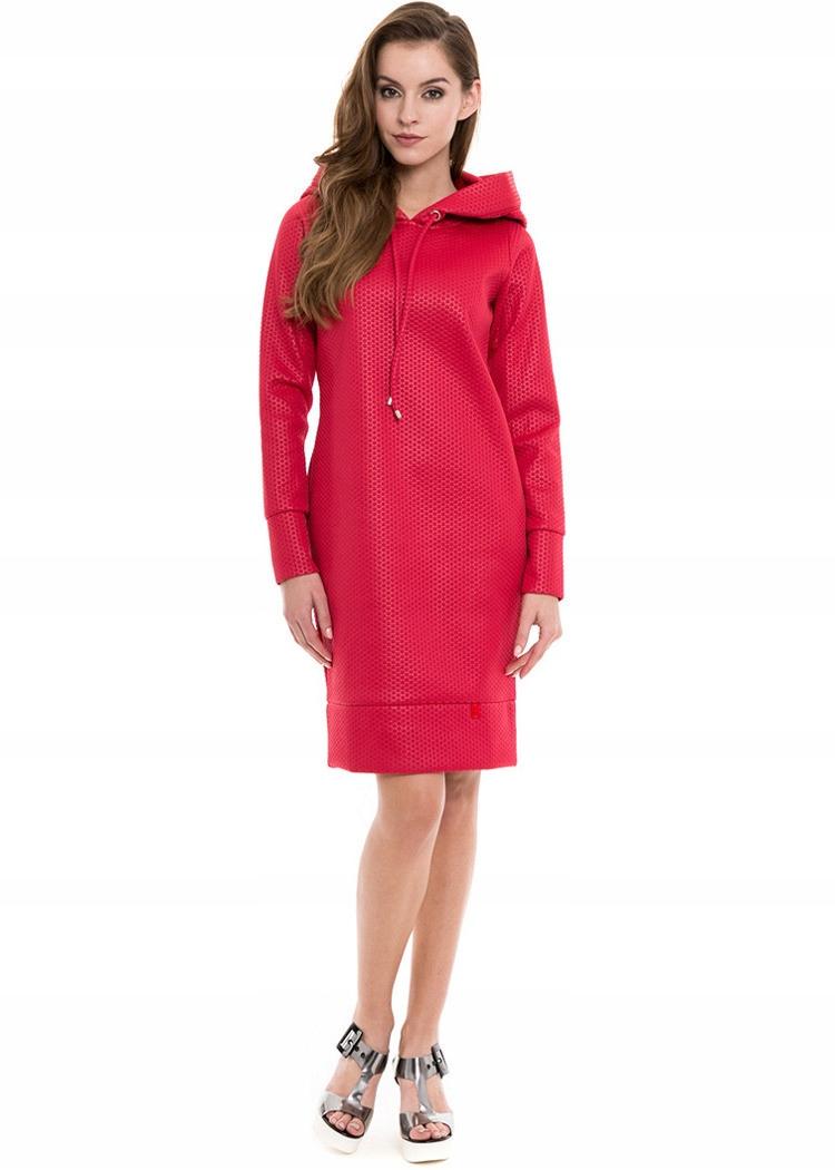 ff9bd8e525 SIMPLE sukienka z kapturem SPORTOWA super 38 - 7592675172 ...