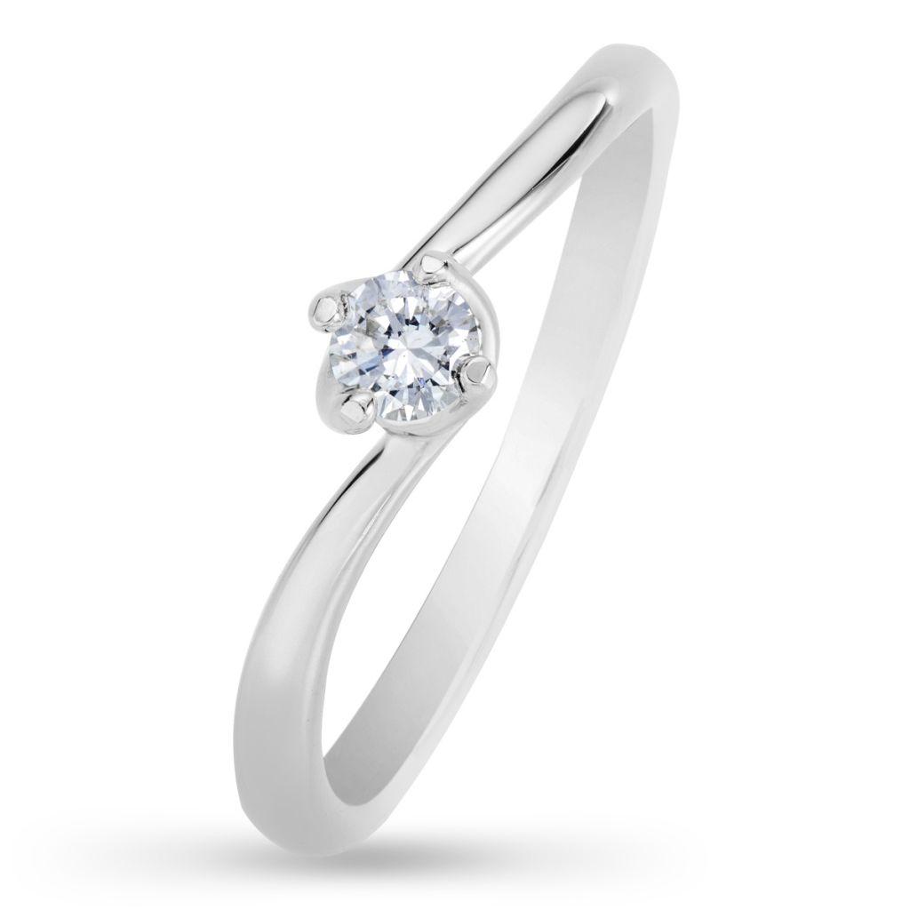 Pierścionek Zaręczynowy Wkruk Brylant 015 Roz11 7218373102