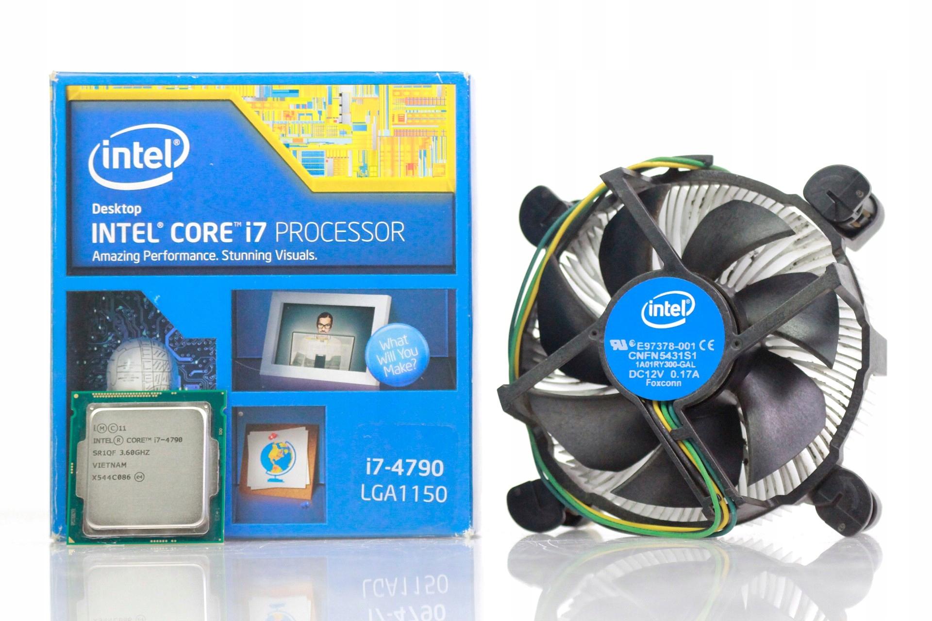 Core I7 4790 36ghz W Oficjalnym Archiwum Allegro Ofert Intel 34 Box Socket 1150