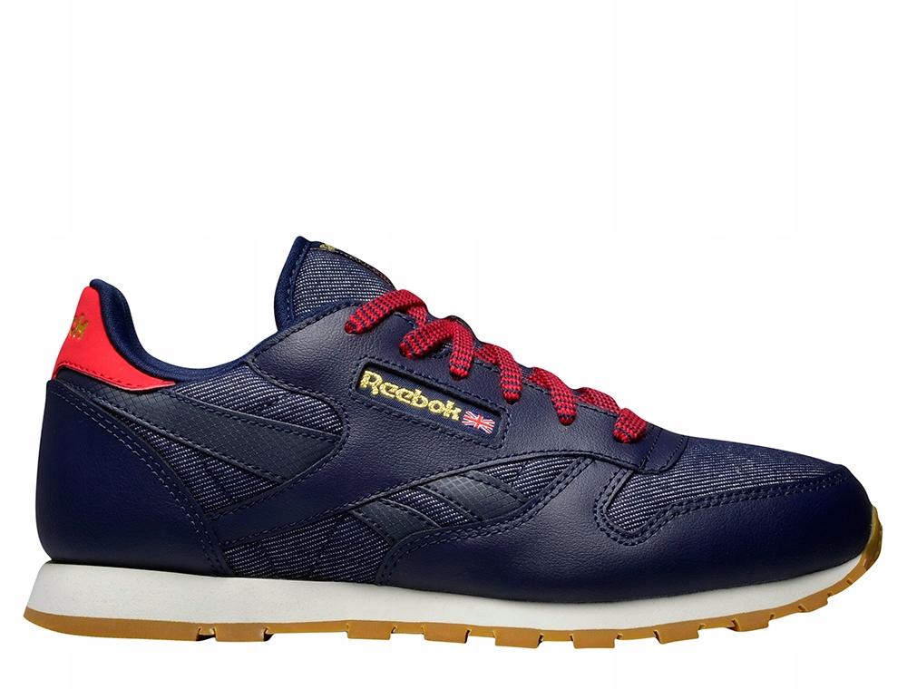 Obuwie sportowe dla kobiet buty Reebok Cl Leather Dg AR2042