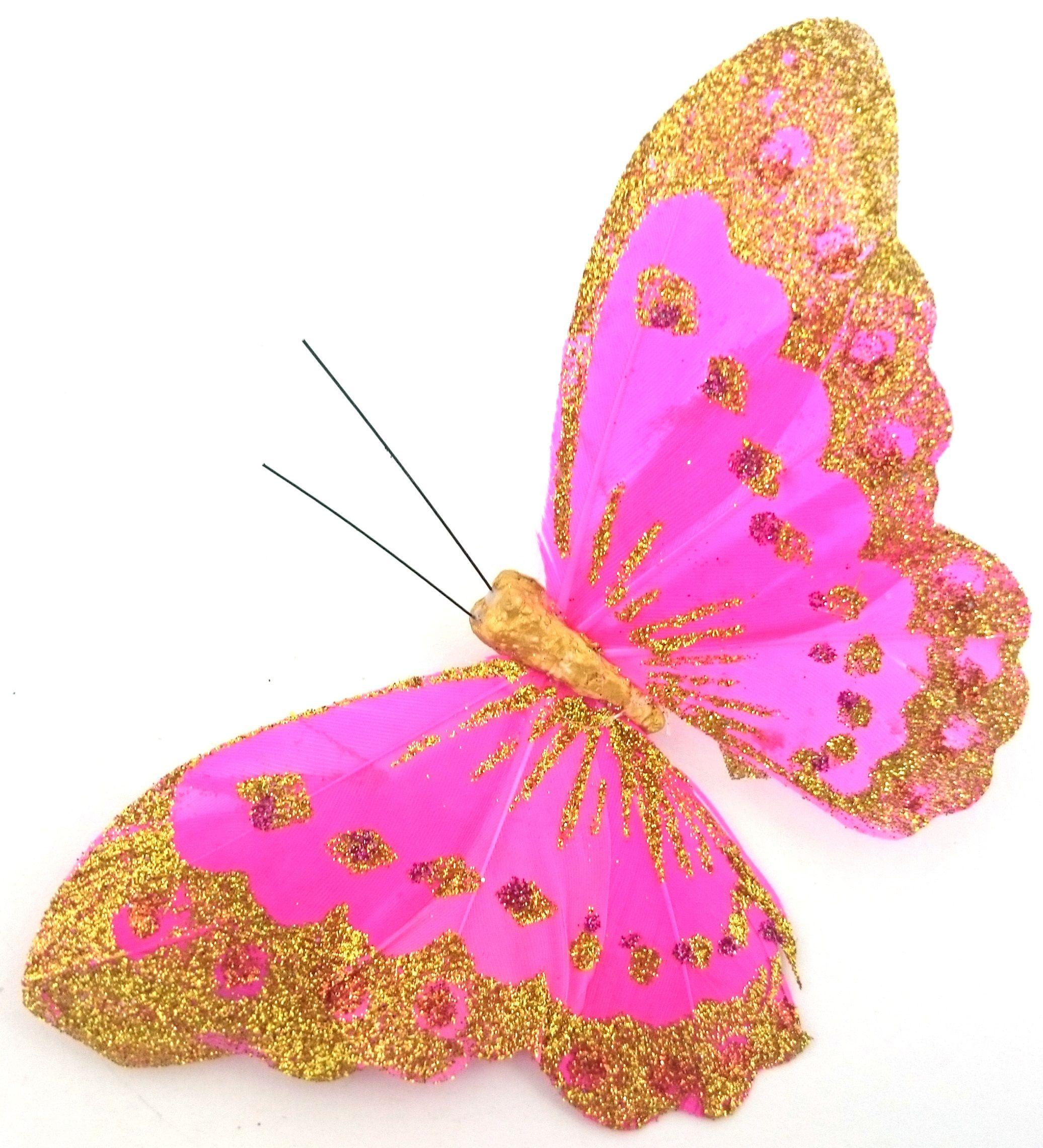 Motyl Motyle Dekoracyjne Motylki Kolorowe Ozdobne