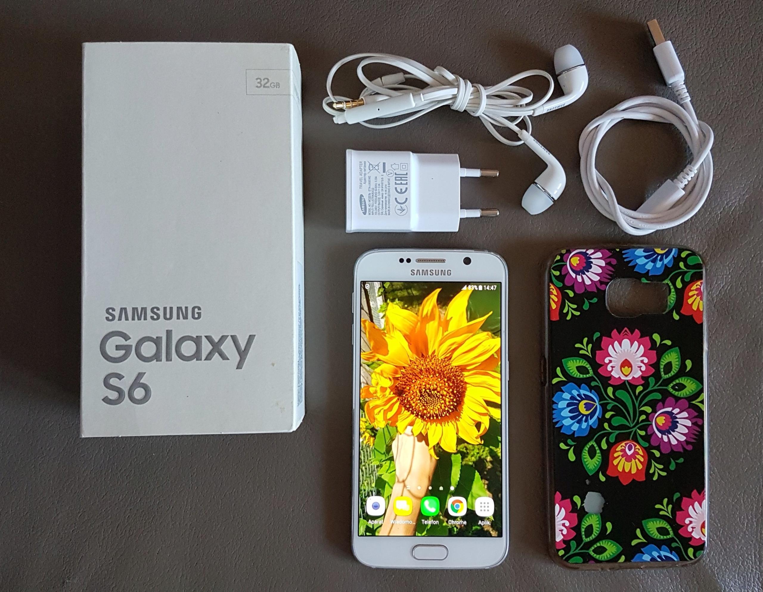 Sprzedam Samsung Galaxy S6 kolor White Pearl