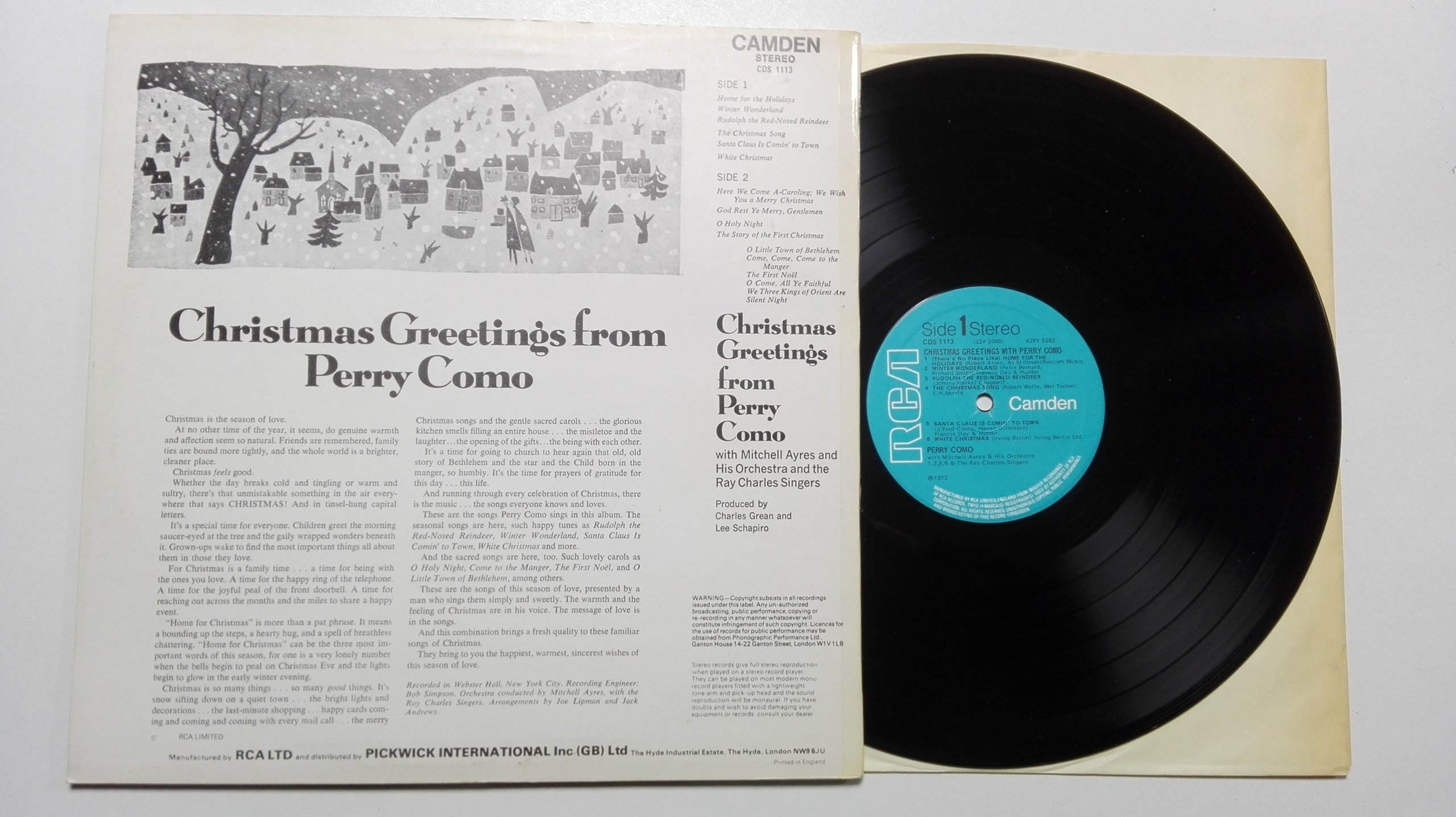 Perry como christmas greetings from perry como 7081465999 perry como christmas greetings from perry como 7081465999 m4hsunfo