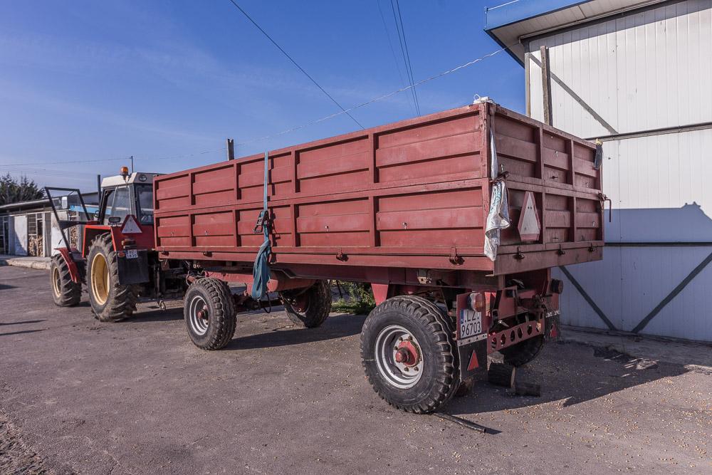 Poważnie Przyczepa Czeska, wywrotka 9 ton - 7218195693 - oficjalne archiwum CJ53