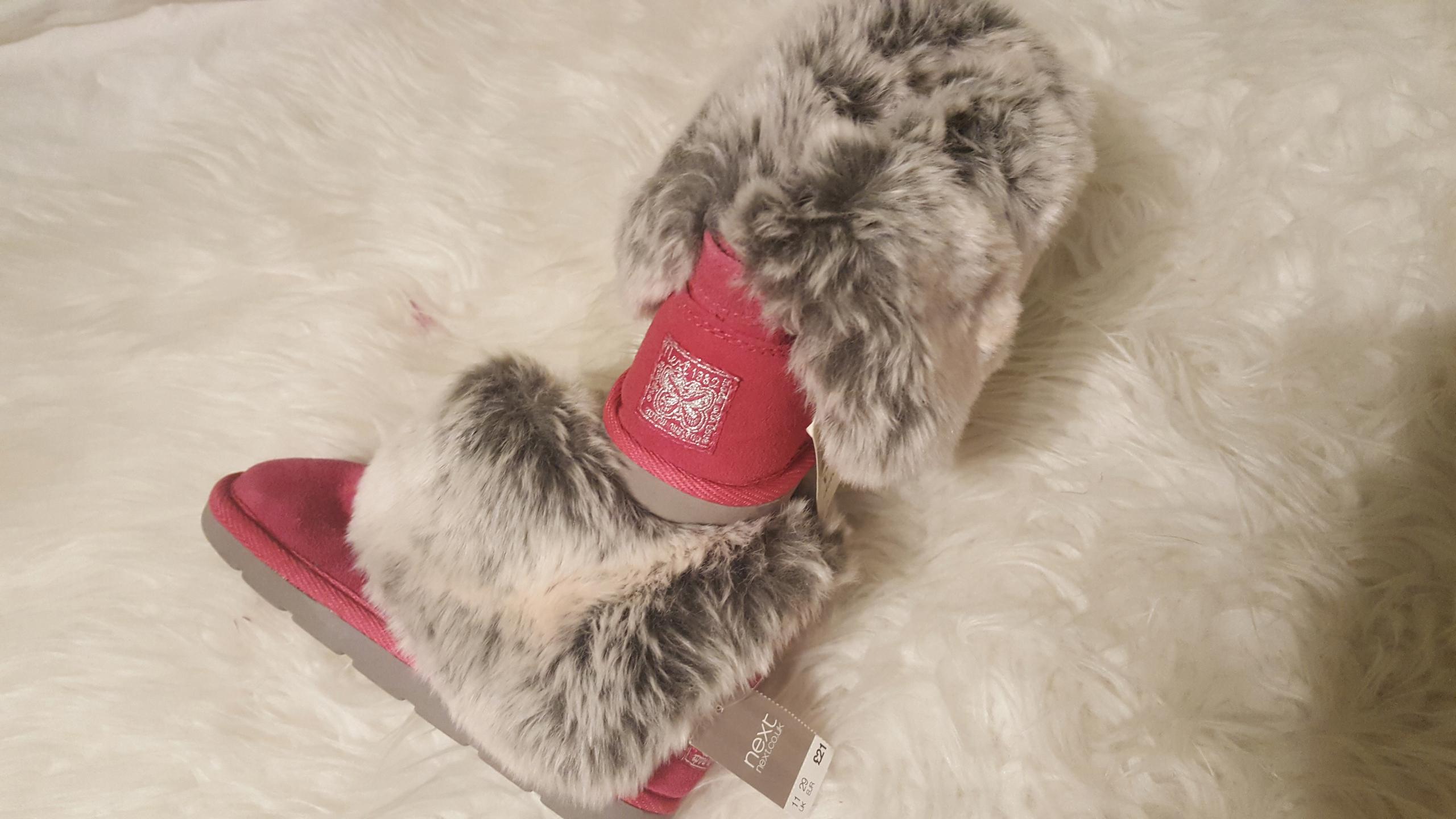 Kozaki zimowe Emu ocieplane futrem Next 29