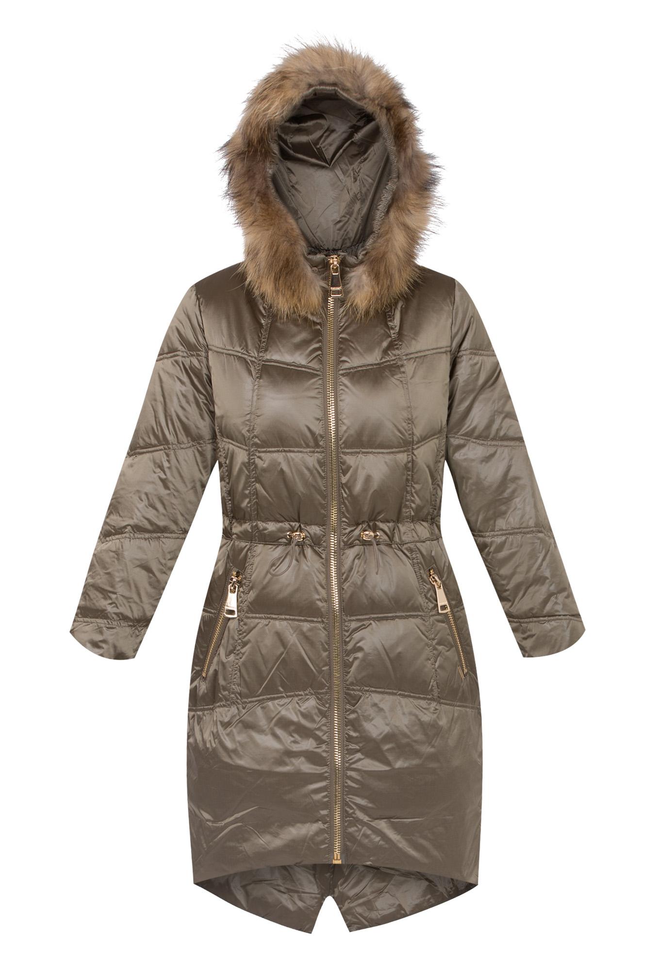 b5e5942532ded Pikowany płaszcz PUCHOWY MONNARI FUTRO JENOT NOWY - 7148812177 ...