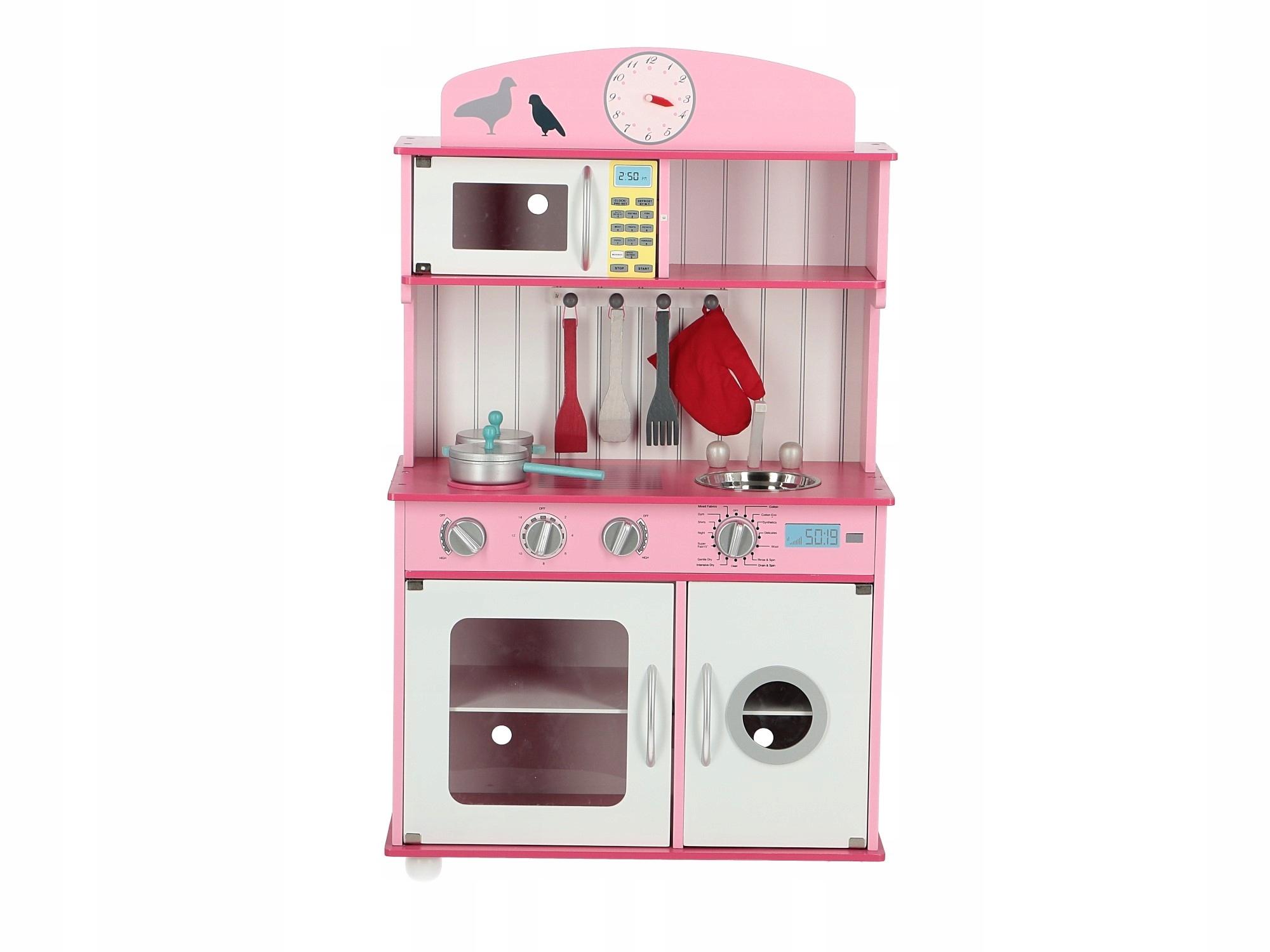 Kuchnia Drewniana Dla Dzieci Sofia Pink Rozowa 7527218958