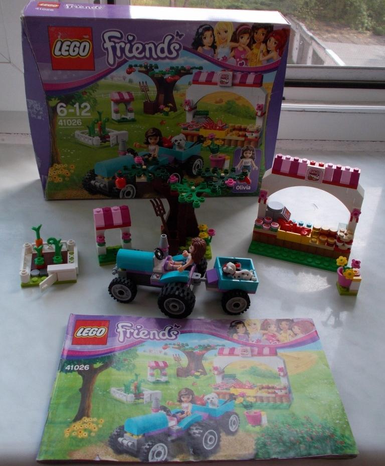 Klocki Lego Friends 41026 Owocowe Zbiory Farma 7544264046