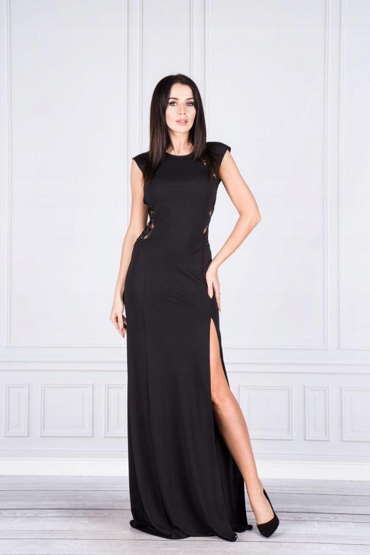 Sukienka wieczorowa maxi 7646300628 oficjalne archiwum