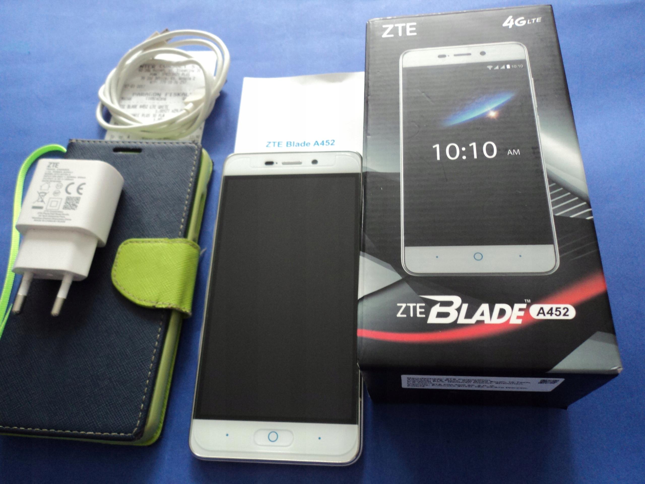 80cc4519c ZTE Blade A452-Dual Igła stan gwar.-mocna bateria - 7521859839 ...