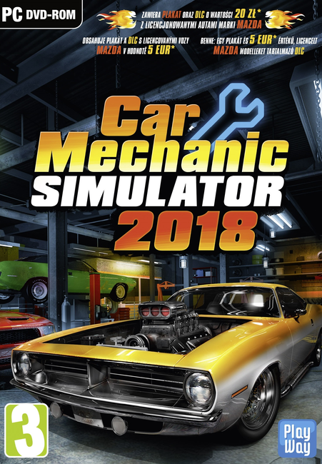 Car Mechanic Simulator 2018 Pc Pl Steam Klucz 7375578217