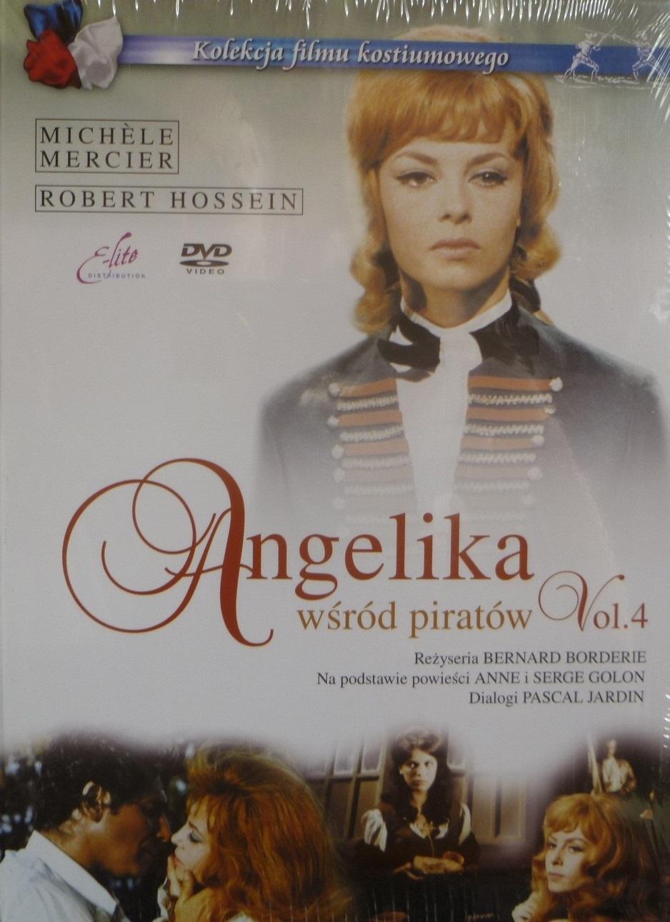 ANGELIKA WŚRÓD PIRATÓW - DVD+KSIĄŻKA