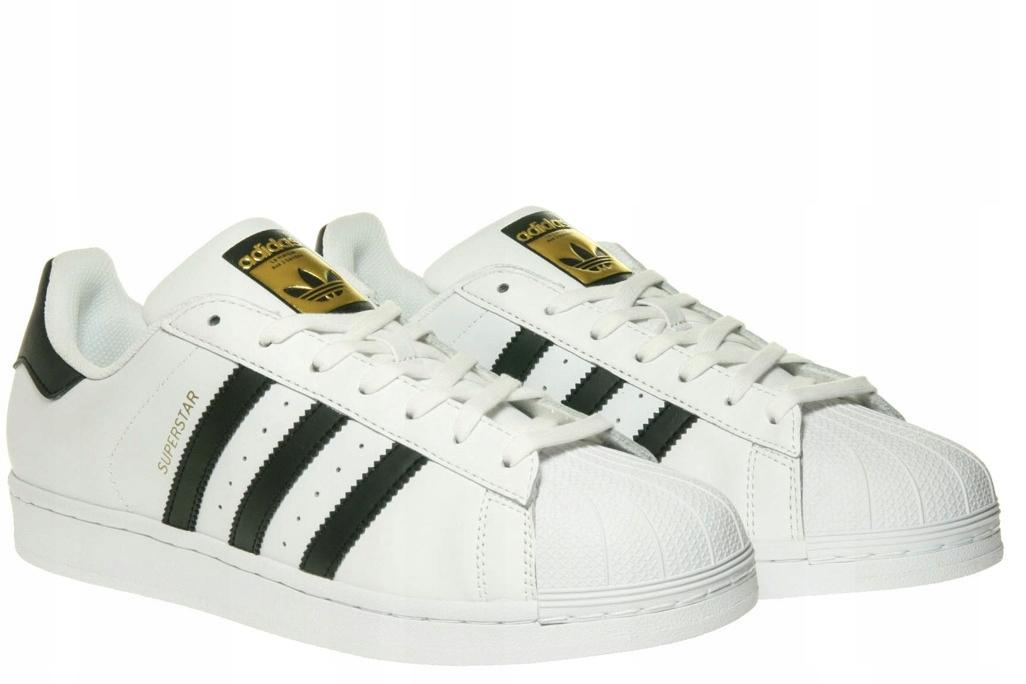 buy online 1b0c9 449d0 Buty Męskie Adidas SUPERSTAR C77124 Białe r. 46.5 (7501143859)