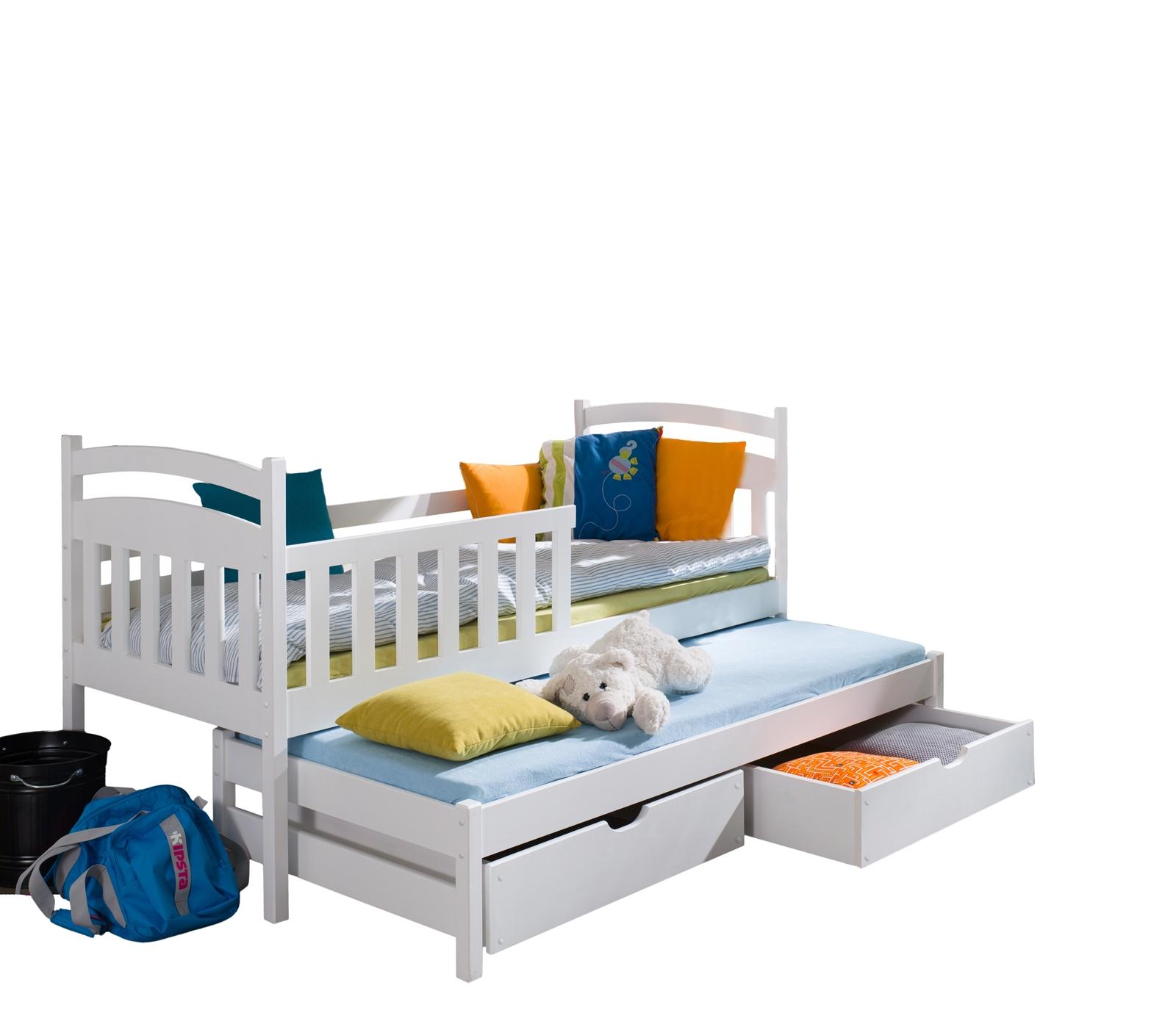 łóżko Piętrowe Wysuwane Tapczan Doblo 80x180 Nowe