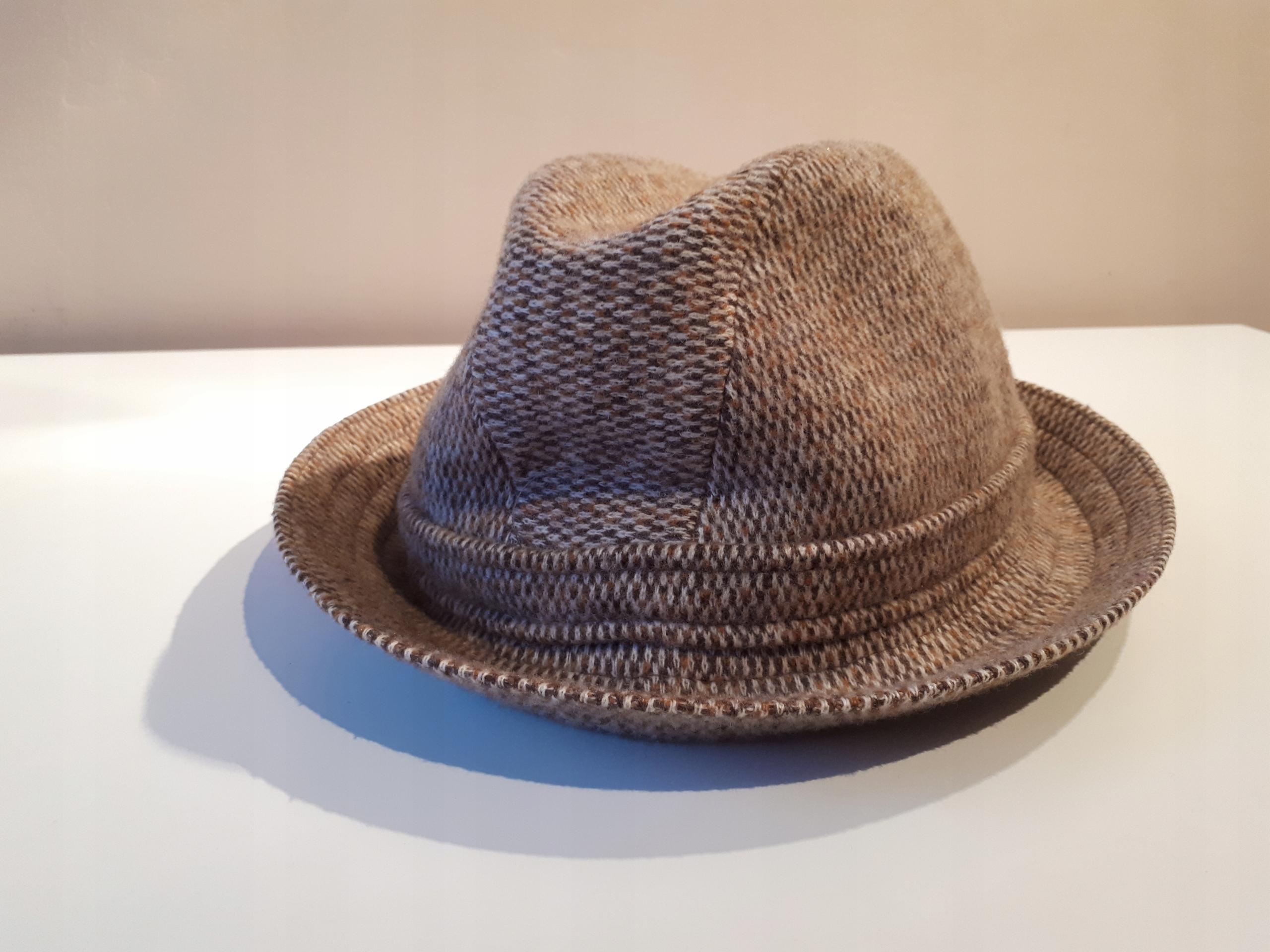 wełniany kapelusz kangol (vintage)
