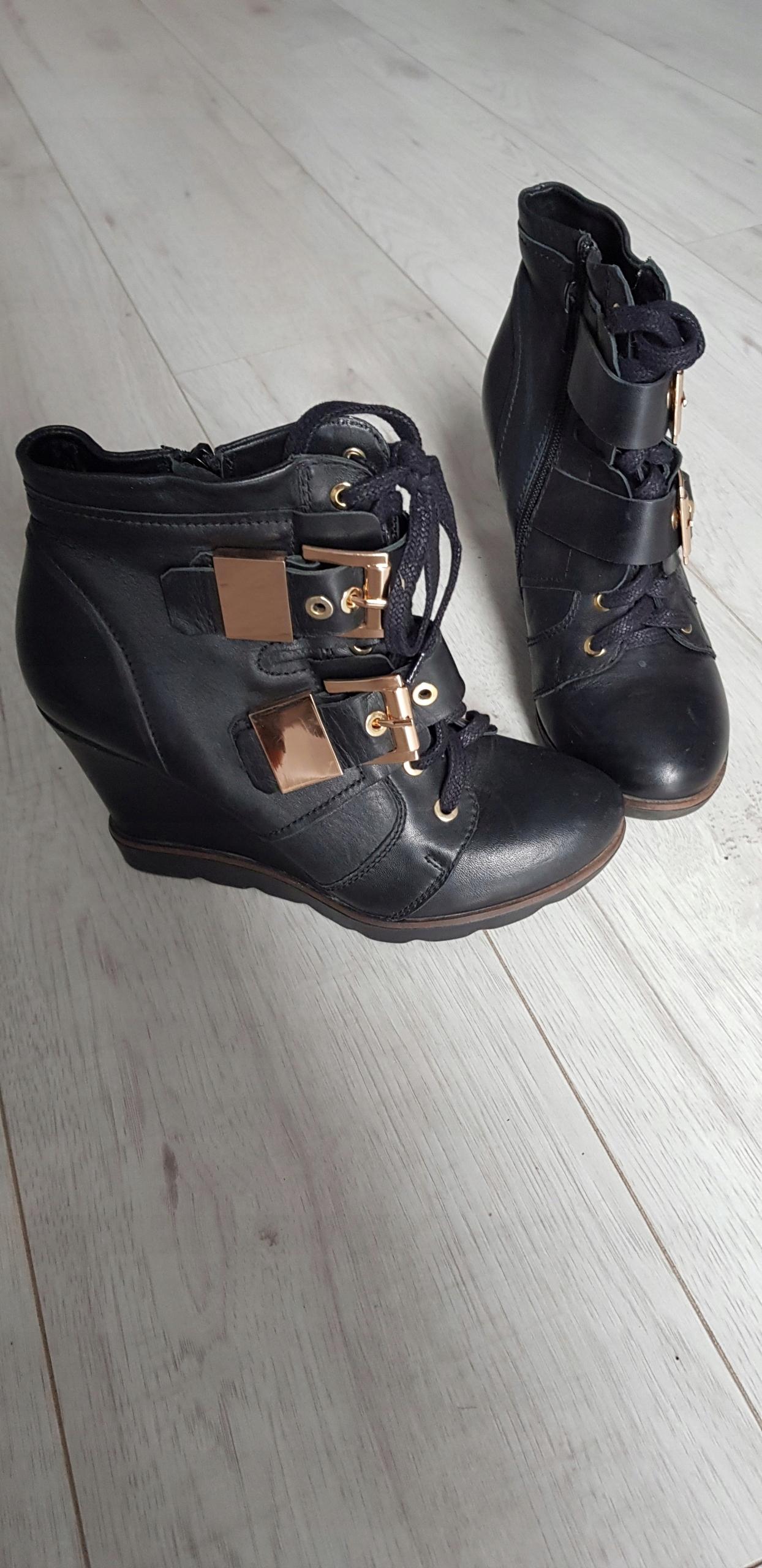 cc752b11 Kazar buty róż.38 skóra - 7532428272 - oficjalne archiwum allegro