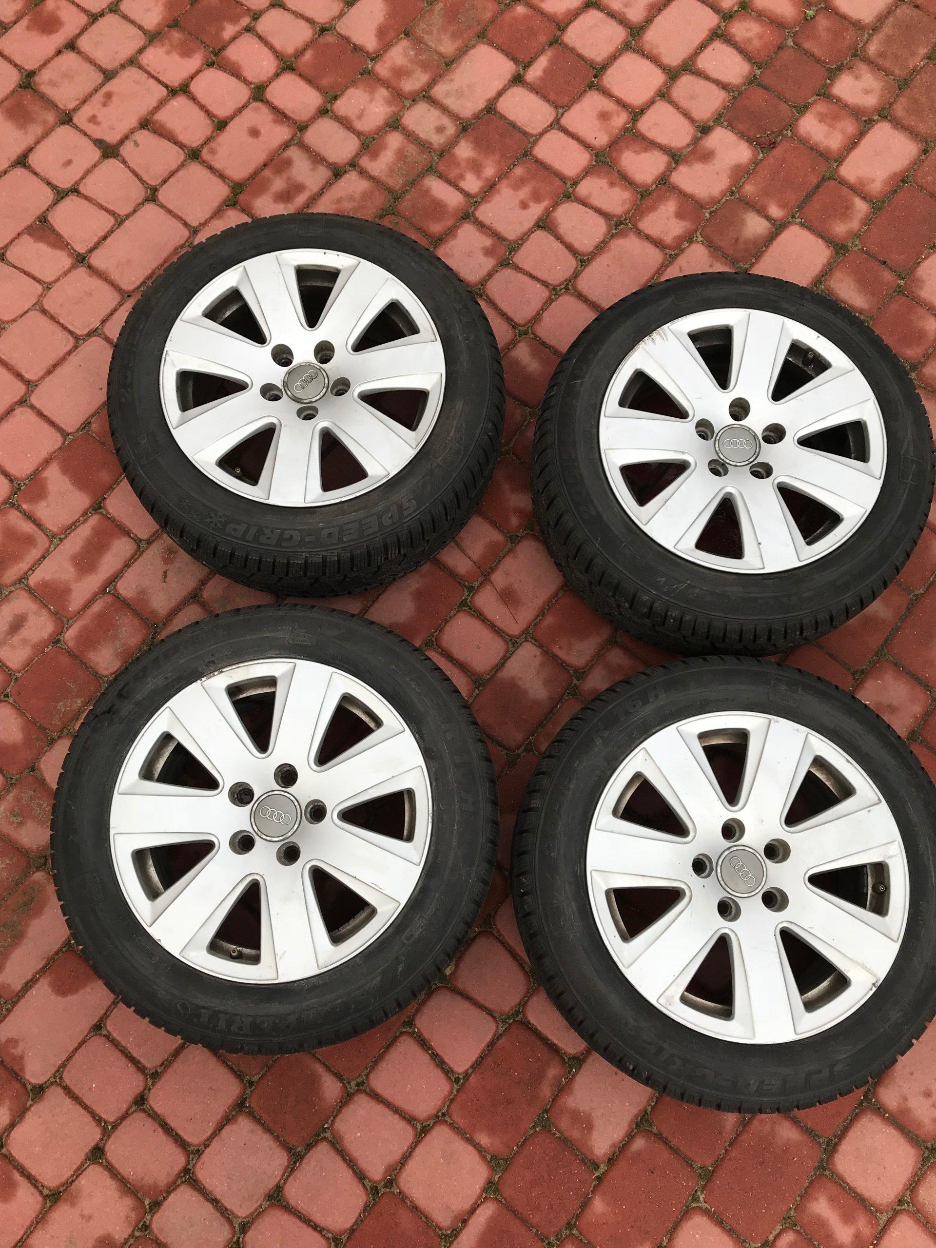 Alufelgi Audi A6 C6 5x112 R 16 Opony Zima 7095807468 Oficjalne