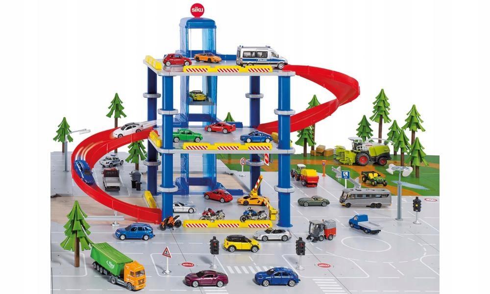 Siku 5505 Parking 3 Poziomowy 6689525636 Oficjalne Archiwum Allegro
