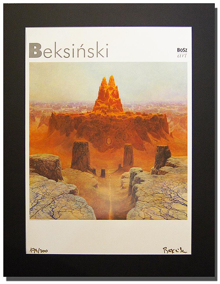 Zdzisław Beksiński Sygn Plakat Od Artemoderna