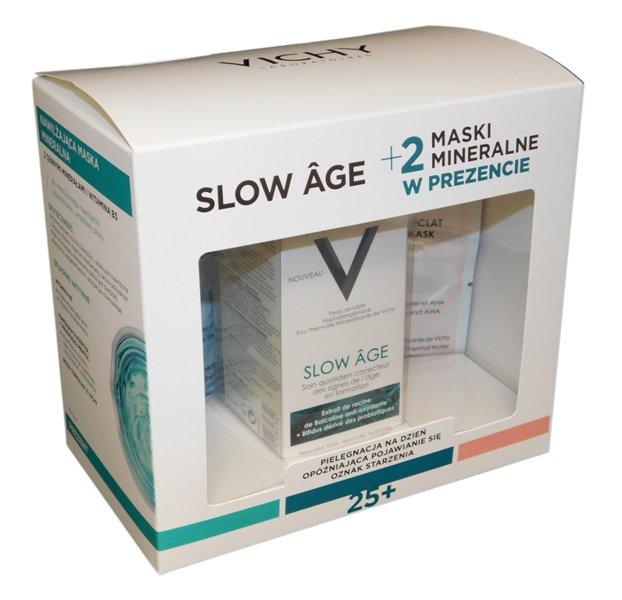 VICHY SLOW AGE Fluid 50ml + 2 maski 2 x 6ml
