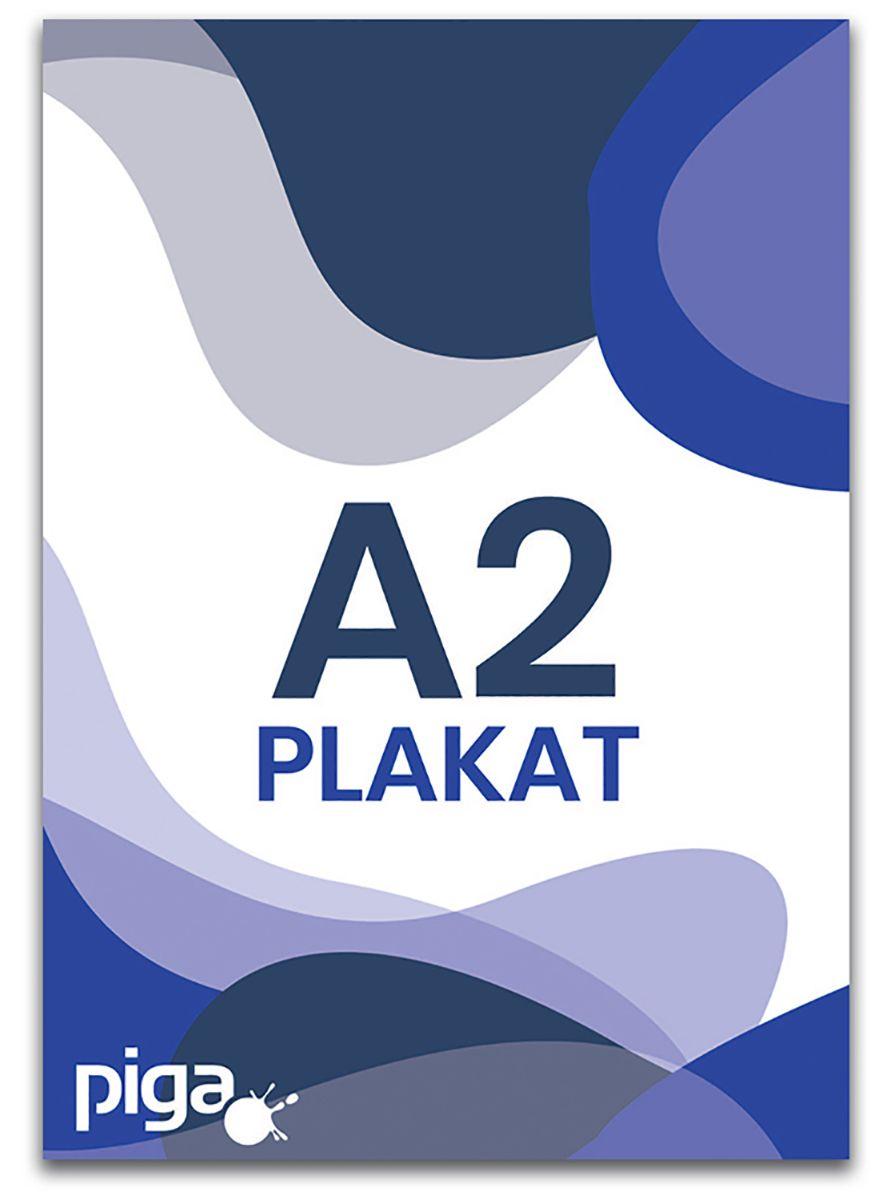 Plakaty A2 kreda mat 130g pełny kolor druk 900 szt